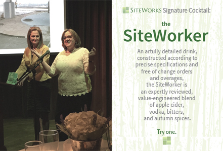 SiteWorks Signature Cocktail Graphic